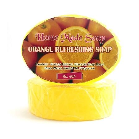 Orange Refreshing Soap, 100g (Pack of 5)
