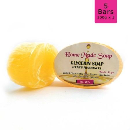 Pear's Glycerin Soap, 100g (Pack of 5)