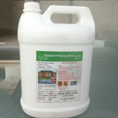 Sodium Hypochlorite Solution 5L