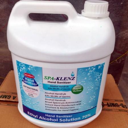 SPA-KLENZ Hand Sanitizer 5L